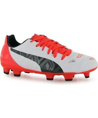 Puma Evopower 3.2 Junior FG Football Boots, white