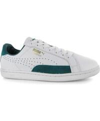 Puma Match 74 Mens Trainers, white/green