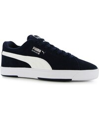 Puma Suede S Mens Trainers, navy/white