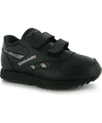 Reebok Classic Etched Childrens Trainers, black/silver