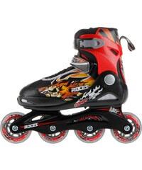 Roces Compy 5.0 Junior Skates, black/red