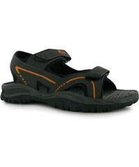 Slazenger Wave Mens Sandals, charcoal