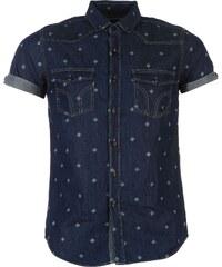 Smith Disclosure Shirt Mens, dk blue denim