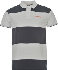 Soul Cal SoulCal Striped Polo Shirt, navy/white
