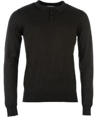 Soviet Polo Cable Jumper, charcoal