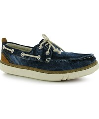 Timberland Canvas Boat Shoes Ladies, blue