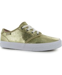Vans Camden Metallic Girls Trainers, gold