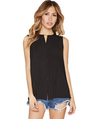 Forever 21 Dámský top Sleeveless Chiffon Top