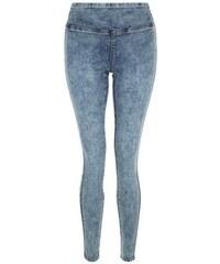 New Look Hellblaue Jeggings mit hohem Taillenbund