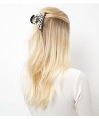 New Look Schwarze Haarklammer mit Leopardenmuster