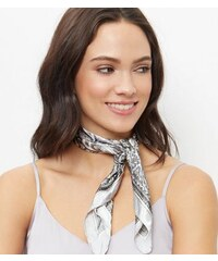 New Look Graues Bandana-Tuch mit Paisleymuster