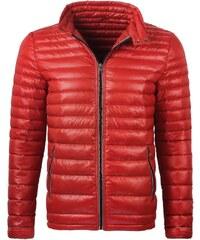 Červená pánská bunda