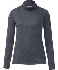 Cecil - T-shirt col roulé Jona - deep bleu melange