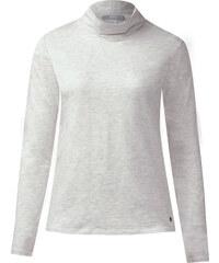Cecil - T-shirt col roulé Jona - off blanc melange