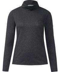 Cecil - T-shirt col roulé Jona - graphit gris