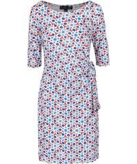 Modro-bílé vzorované šaty Smashed Lemon