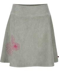 Světle zelená manšestrová sukně s výšivkami Tranquillo Tito