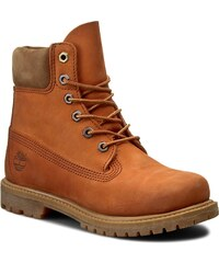 Turistická obuv TIMBERLAND - 6 In Premium Boot A18NU Orange