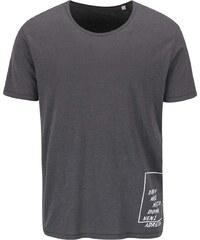"""DOBRO """"Dobré"""" šedé pánské triko pro Jeden Svět"""