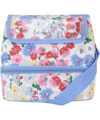 Bílo-modrá květovaná taška Cath Kidston