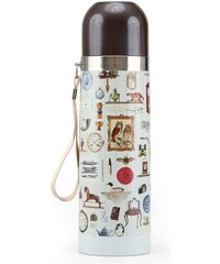 Bílá termoska Disaster Granny's Attic s obrázky