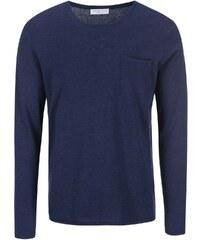 Tmavě modrý svetr Selected Token
