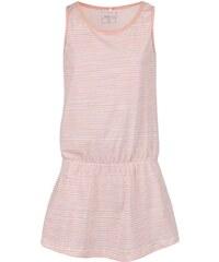 Růžové pruhované holčičí šaty name it Vigga