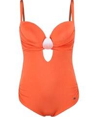 Oranžové jednodílné plavky Lisca Barbados