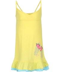 Žluté holčičí šaty na ramínka North Pole Kids