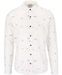Krémová vzorovaná košile ONLY & SONS Harrold