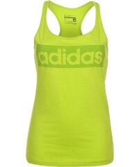 Adidas Linear Tank Top Ladies, solarslime
