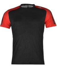 Adidas Response Short Sleeve T Shirt Mens, black/ray red