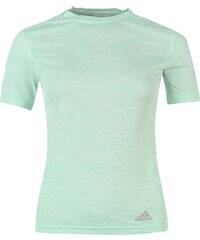 Adidas SuperNova Short Sleeve Ladies Running Top, frozen green