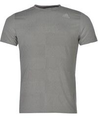 Adidas Supernova Short Sleeved T Shirt Mens, solid grey