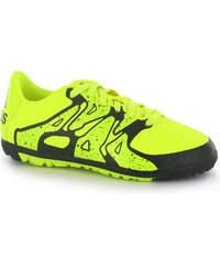 Adidas X 15.3 Childrens Astro Turf Trainers, solar yellow