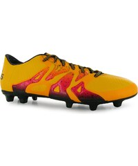 Adidas X 15.3 Mens FG Football Boots, solar gold