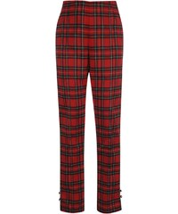 Banned Halo Trousers Ladies, red tartan