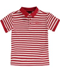 Ben Sherman 49J Short Sleeve Polo Infant Boys, red