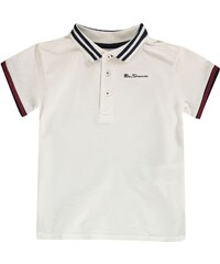 Ben Sherman 66J Short Sleeve Polo Infant Boys, white