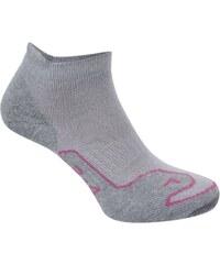 Brasher Naturale Trail Ankle Socks Ladies, grey/pink