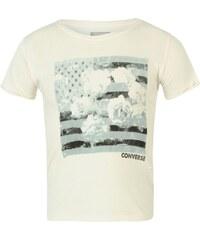 Converse Short Sleeved Junior T Shirt, white
