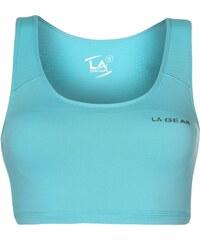LA Gear Crop Top Bra Ladies, bright blue