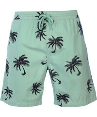 Lee Cooper All Over Pattern Shorts Mens, mint