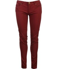 Lee Cooper Coloured Jeans Ladies, maroon