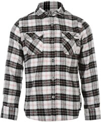 Lee Cooper Flannel Shirt Junior Boys, black/white/red