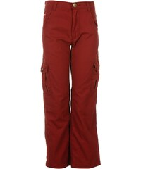 Lee Cooper Open Hem Cargo Pants Junior Boys, burgundy