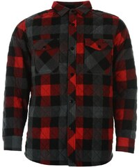 Lee Cooper Padded Shirt Junior Boys, red check