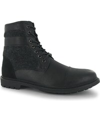 Lee Cooper PU Worker Boots Mens, black