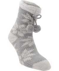 Lipsy Snowflake Socks Womens, grey