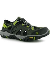 Merrell Blaze Sieve Mens Sandals, castle/green